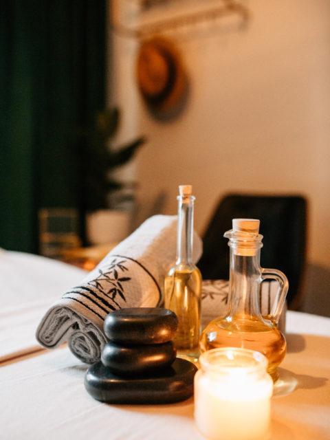 gabinet, studio masażu camellia kraków, naturalne oleje, masaż krakó∑